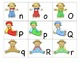 Theme ABC's:  Scarecrows ABC's
