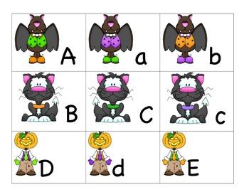 Theme ABC's:  Spooky ABC's