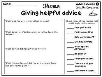 Theme Advice Columns