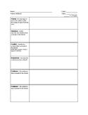 Theme Analysis Graphic Organizer
