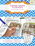 Theme Assessment Finding Themes in Literature 3rd R.L.3 Graphic Organizers
