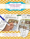 Theme Assessment 4th Grade with MINILESSON and Common Core