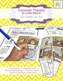 Theme Assessment 5th Grade with MINILESSON and Common Core