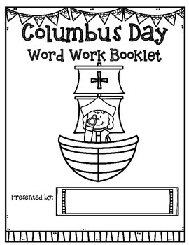 Columbus Day {Theme Based Activities}