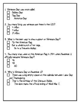Veterans' Day {Theme Based Activities}