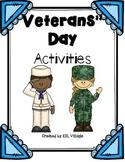 Veterans' Day {Theme Based Activities}