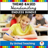 Handwriting Activities Endless Growing Bundle