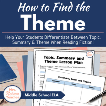 Theme, Big Idea and Summary - The Elements of Fiction