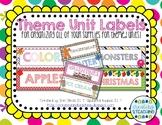 Theme Bin Labels