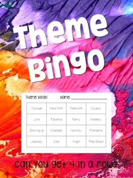 Theme Bingo: Can you get 4 in a row?