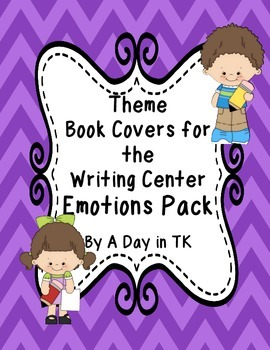 Theme Book Writing Book Covers for the Writing Center - Em