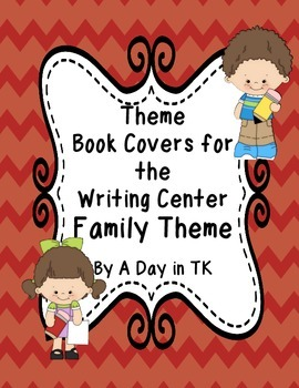 Theme Book Writing Book Covers for the Writing Center - Fa