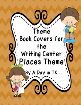 Theme Book Writing Book Covers for the Writing Center - Pl