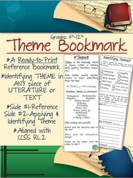 Theme Bookmark, Reference and Application
