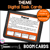 Theme Boom Cards™ 2nd & 3rd Grade - Digital Task Cards for
