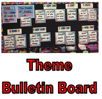 Reading Theme (central message) Bulletin Board Idea