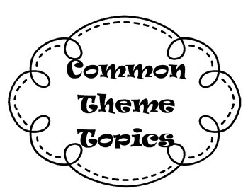 Theme Bulletin Board, Theme Anchor Chart