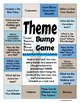 Theme Bump Activity and Game Task Cards and Response Page