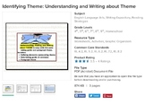 Teaching Theme: identifying, practicing, and comparing to main idea [bundle]
