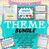 Teaching Theme with Theme Task Cards, Theme Posters, Theme