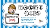 "Theme Cafe - Book ""Tasting"" Activity"