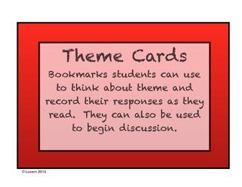 Theme Card Bookmarks