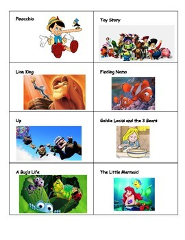 Theme Center Activity - Movie Theme Sorting Activity