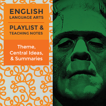 Theme, Central Ideas, & Summaries – Playlist and Teaching Notes