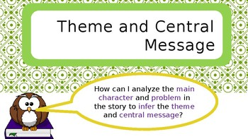 Theme/Central Message