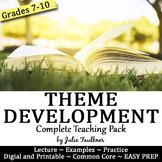 Theme Development Lesson, Complete Teaching Pack