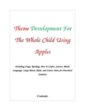 Theme Development for the Whole Child Using Apples