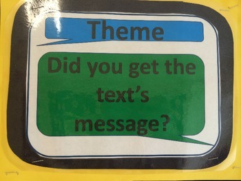 Theme- Did you get the text's message