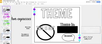 Theme Interactive Digital Anchor Chart