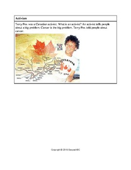 Topic: Famous Canadians - Five Activities for the LINC / ESL Class : CLB 1