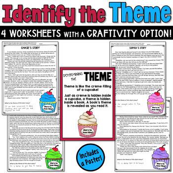 Themes in Literature Craftivity