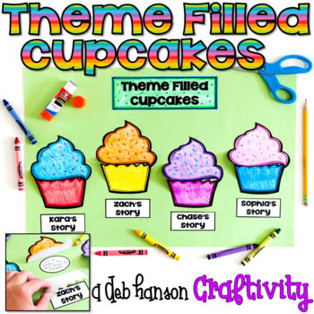 This theme activity was created to help students truly understand the meaning of themes in literature. (A theme is hidden in a book just like creme can be hidden inside a cupcake!) Four passages are included. Students lift the flap to reveal the theme of each passage!