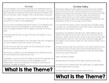 Determining Theme Resource | Theme Flipbook
