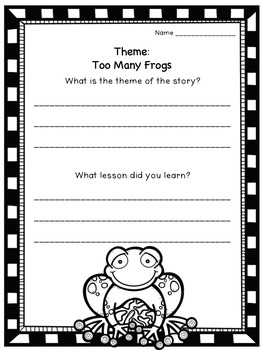 Theme: Flipchart, Worksheets, and Anchor Chart