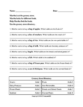 Theme: Food - 4 Food Vocabulary Activities for the Multi-level ESL Class:CLB 1-4