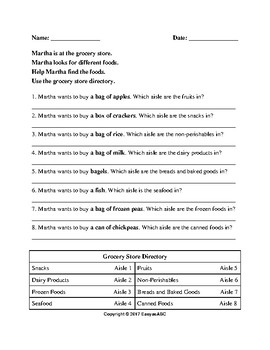 Theme: Food - Food Vocabulary Activity for the Multi-level ESL Class: CLB 1-4
