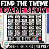 Theme Game Show | Find the Theme | Teaching Theme | ELA Test Prep Reading Review