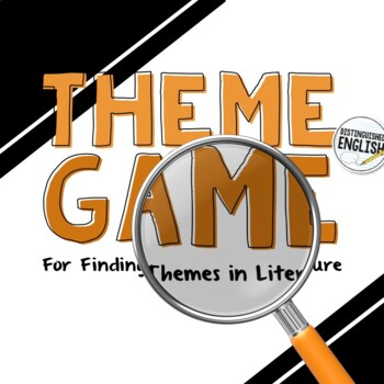 Themes in Literature Game for Secondary ELA