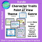 Theme, Genre, Character Trait & Point of View 1-8 Show Your Thinking® Bundle