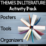 Themes in Literature Activities, Graphic Organizers, and Posters