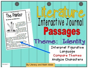 (Theme: Identity) Literature Passages for Interactive Journals