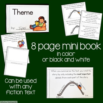 Theme Interactive Mini Book {RL.4.2}