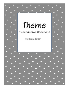 Theme- Interactive Notebook