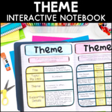 Theme - Reading Interactive Notebook | Distance Learning