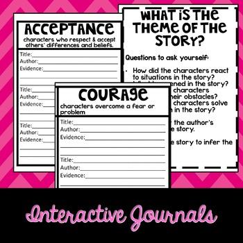 Theme: Interactive Reading Journal Entries
