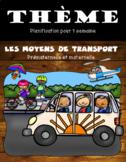 Thème Les moyens de transport